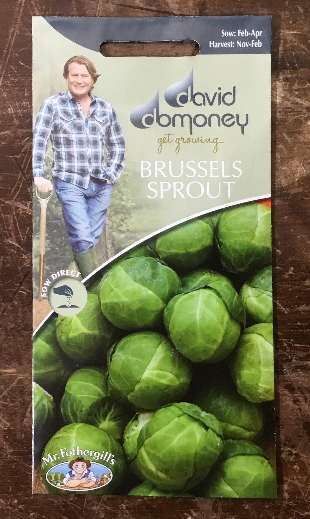 Brussels Sprout Brest F1 - David Domoney Vegetables