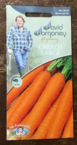 Carrot Jitka F1 - David Domoney Vegetables