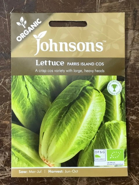 Lettuce parris island cos - Johnsons Organic Vegetables