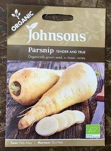 Parsnip tender & true - Johnsons Organic Vegetables
