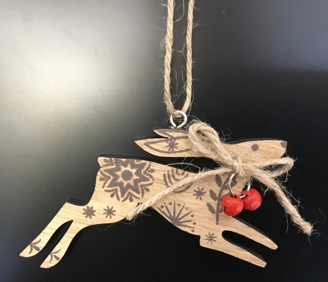 Wood New England Hare