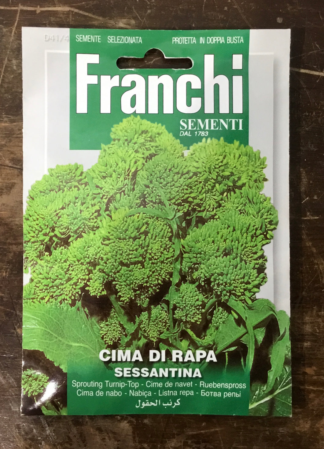 Franchi of Italy Sprouting Turnip Top