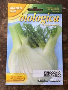 BIO FENNEL MONTE BIANCO - Biologica organic vegetable