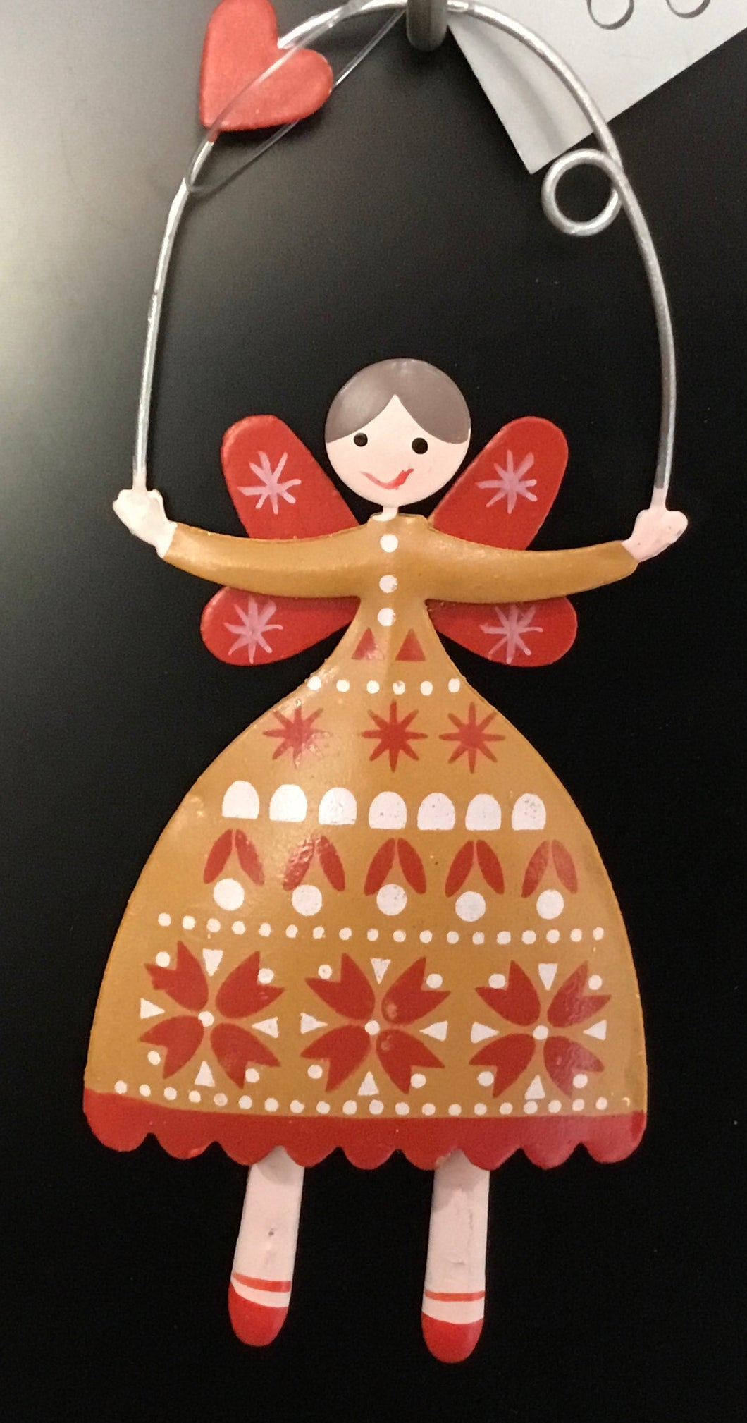 Tin Fairy with Brown dress