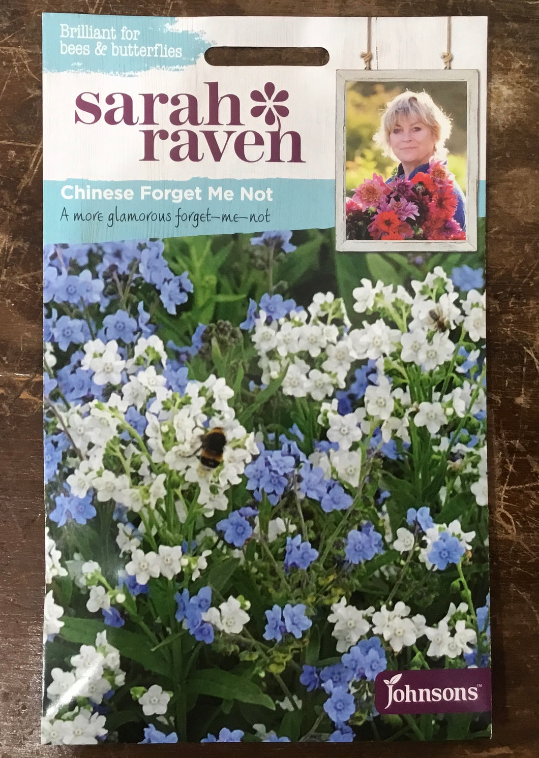 Chinese Forget Me Not - Sarah Ravens Flower Seeds