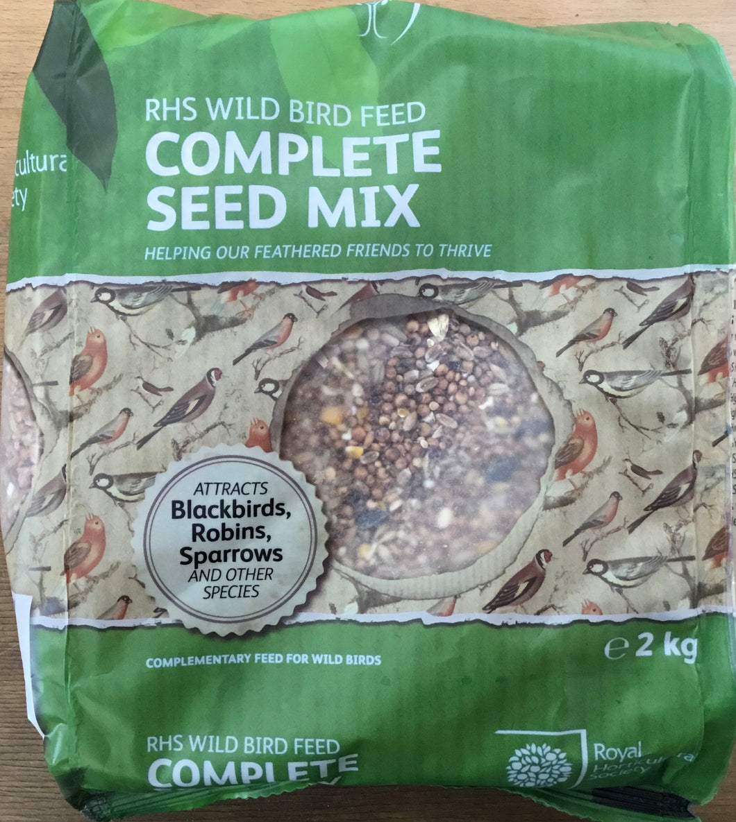 Bird Feed Mixed Seed 2Kg