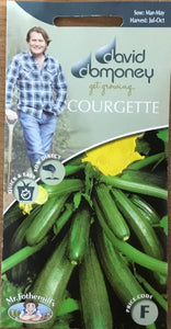 Courgette Tuscany F1 - David Domoney Vegetables
