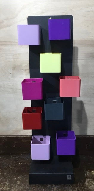 Magnetic Cube holder (6cm cube pots)