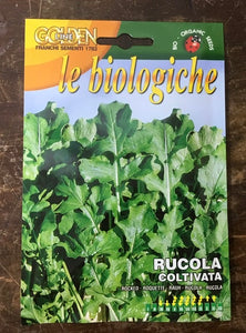 Rocket cultivated- Biologica organic vegetable