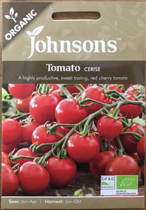 Tomato Cerise - Johnsons Organic Vegetables