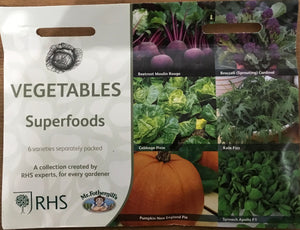 Vegetables Superfoods - RHS Flower Collection