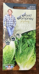 Lettuce Little Gem Delight - David Domoney Vegetables