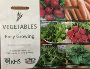 Vegetables for Easy Growing - RHS Flower Collection