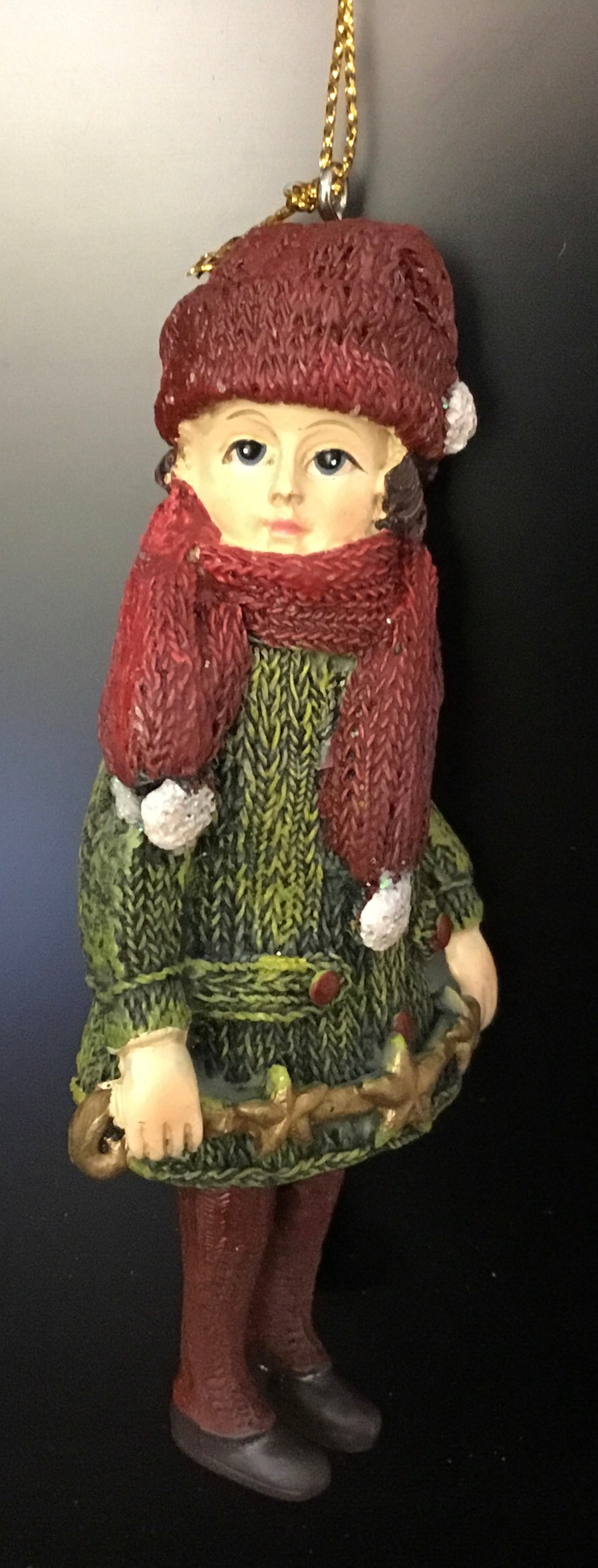 Victorian Child with scarf