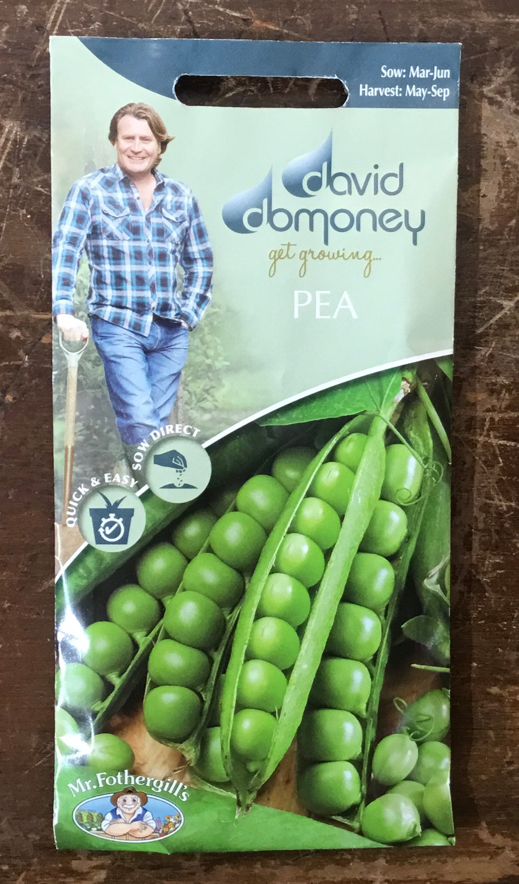 Pea Ambassador - David Domoney Vegetables
