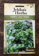 Load image into Gallery viewer, CELERY LEAF Wild  Jekka's Herbs