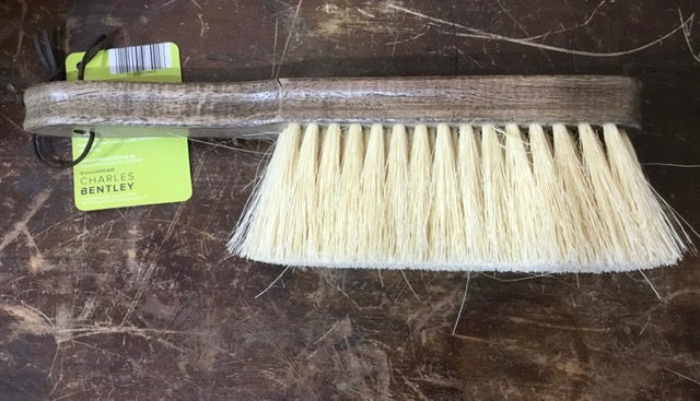 Natural fibre hand brush