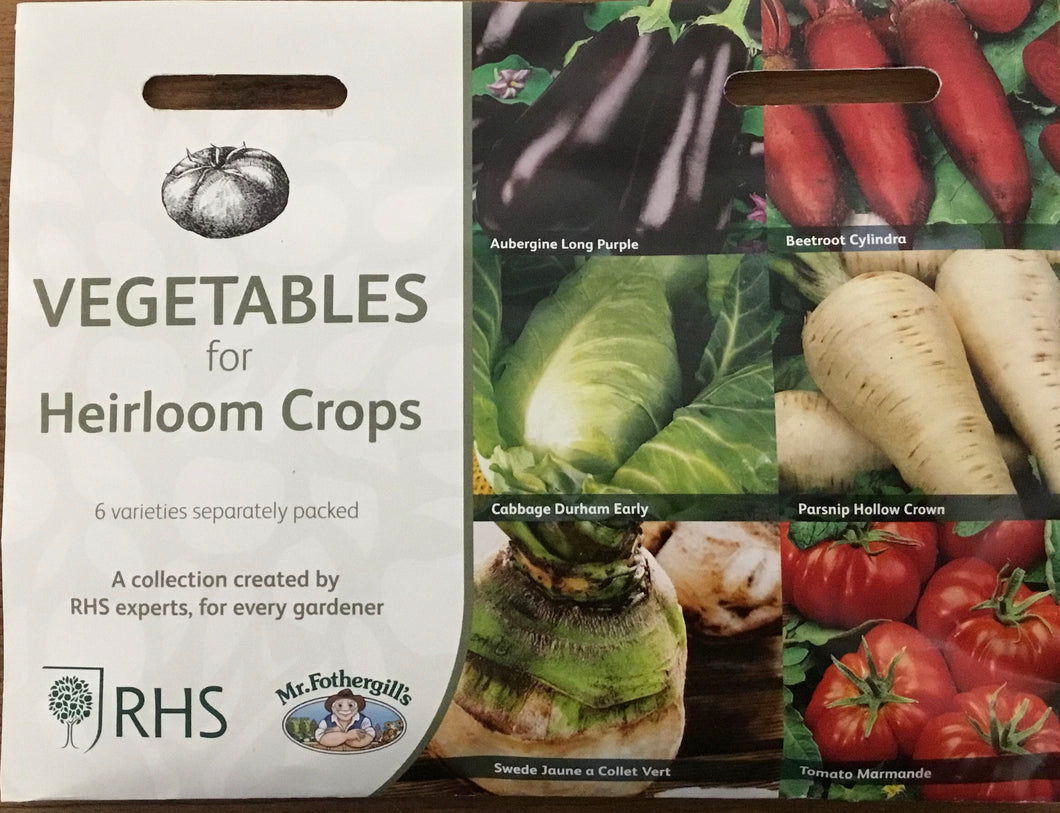 Vegetables for Heirloom Crops - RHS Flower Collection