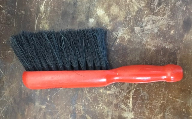 Salmon Hand Brush