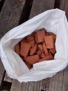 Terracotta broken crockery for pot drainage (approx 1KG)
