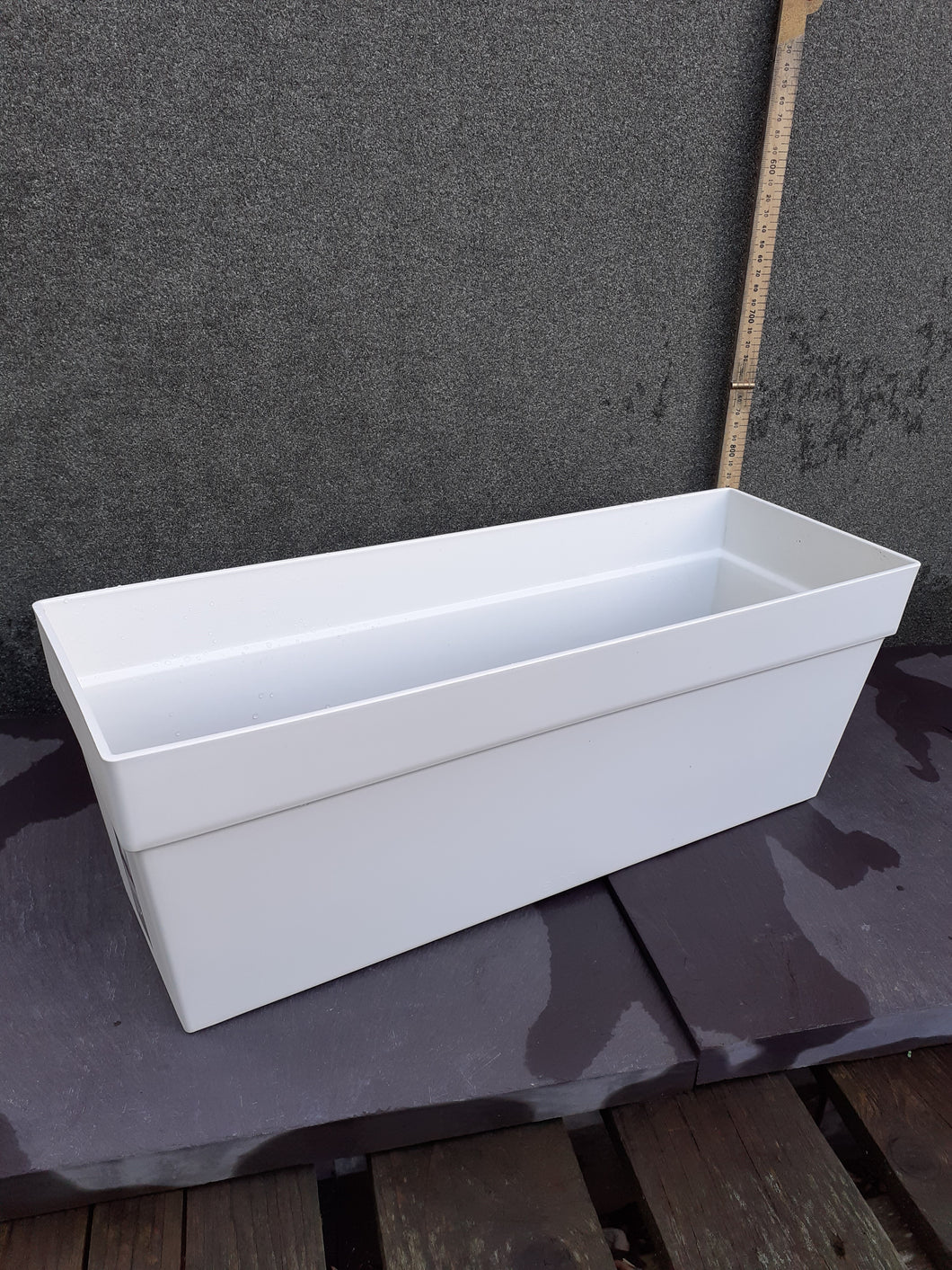 White loft urban trough L50cmD18cmH18cm