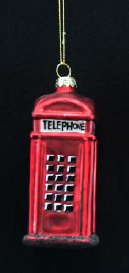 Glass Telephone Box