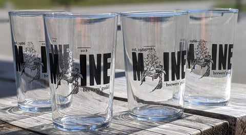 Maine Brewers' Guild Taster Glass