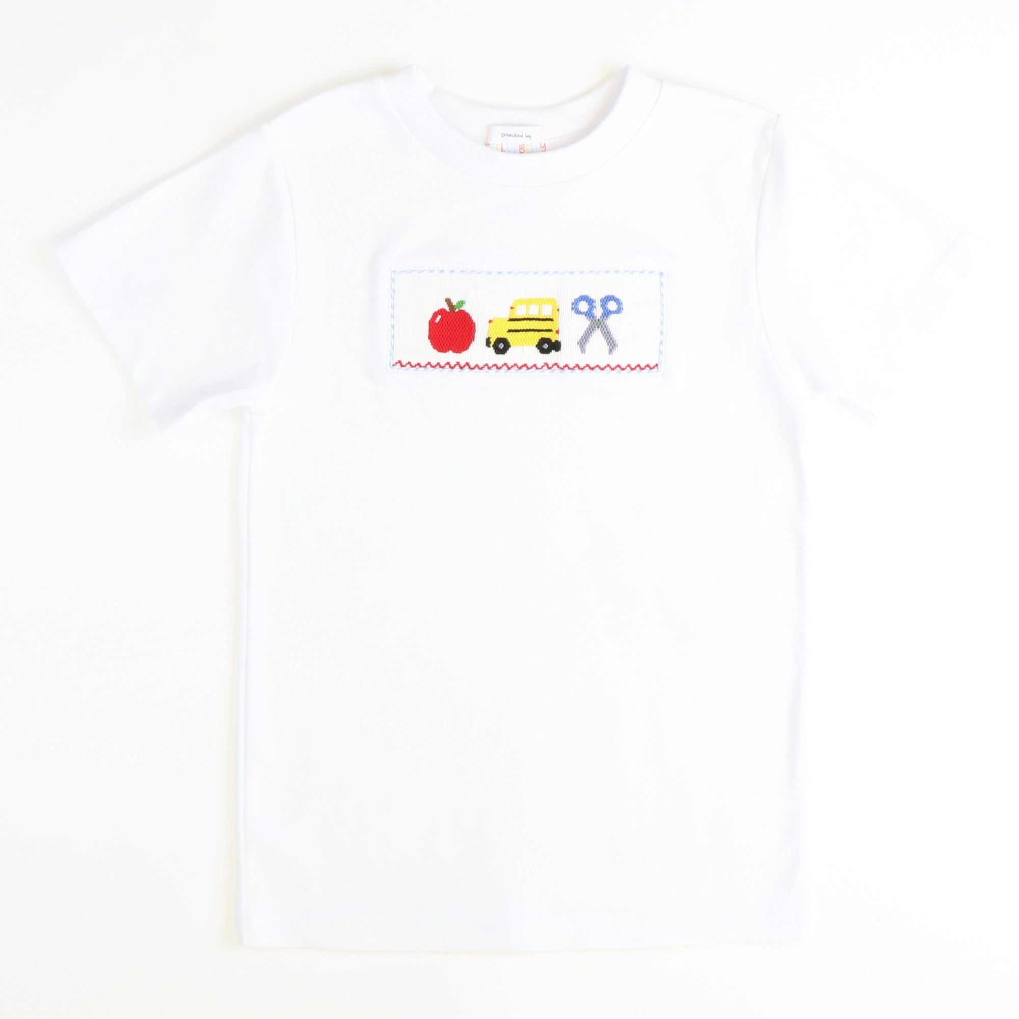 Smocked Back to School T-Shirt
