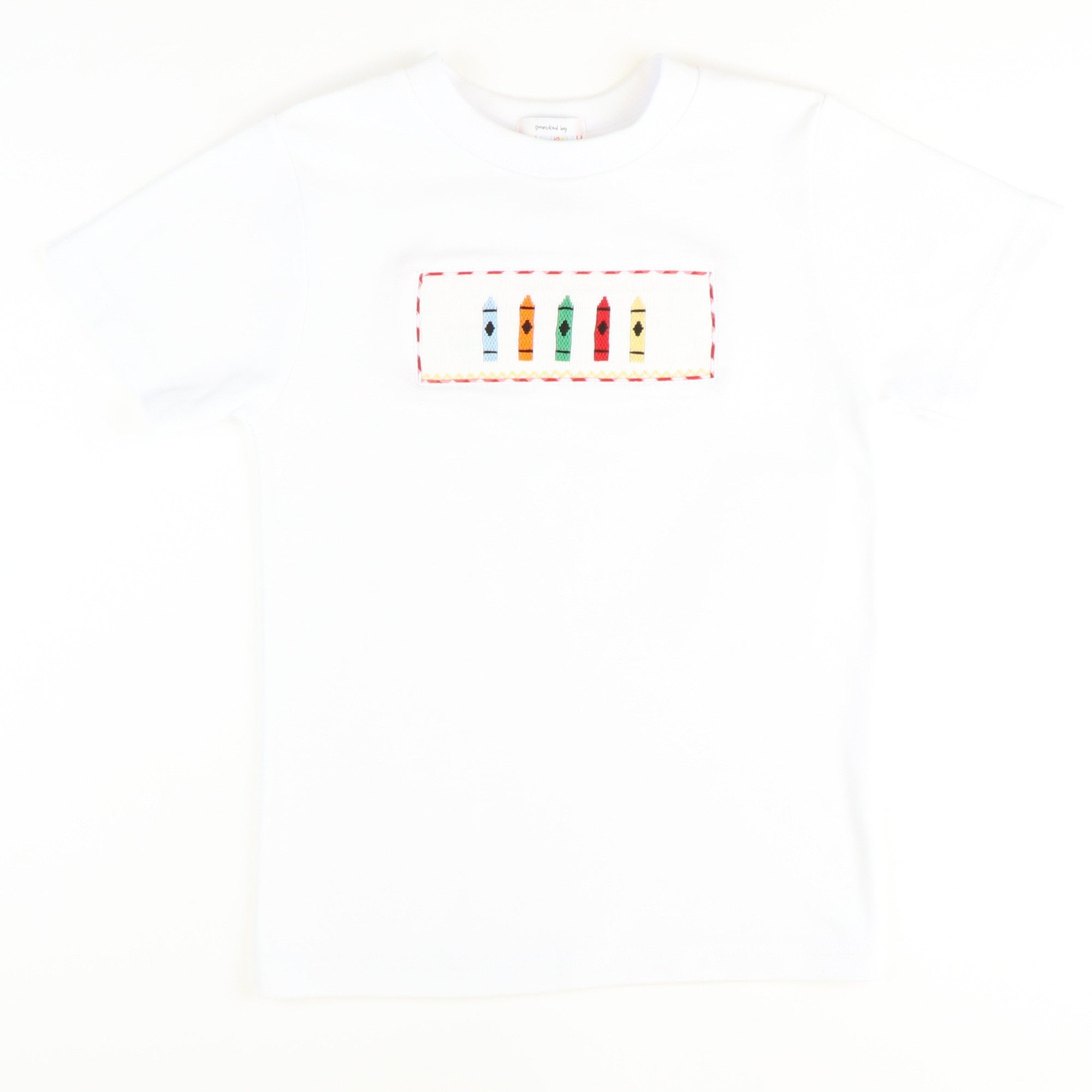 Smocked Crayons T-Shirt