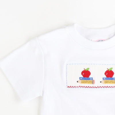 Smocked Apples & Books T-Shirt