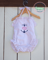 PINK SEERSUCKER SWIMSUIT - Southern Smocked Company | Great Deals On Classically Styled Smocked, Monogrammed, & Embroidered Infant, Toddler, & Children's Clothing