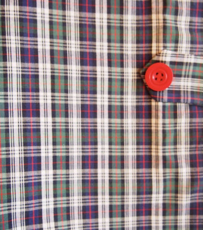 CLASSIC CHRISTMAS PLAID BOY BUBBLE - Southern Smocked Company | Great Deals On Classically Styled Smocked, Monogrammed, & Embroidered Infant, Toddler, & Children's Clothing