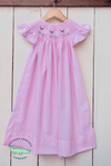 SMOCKED LITTLE LAMB PINK BISHOP - Southern Smocked Company | Great Deals On Classically Styled Smocked, Monogrammed, & Embroidered Infant, Toddler, & Children's Clothing