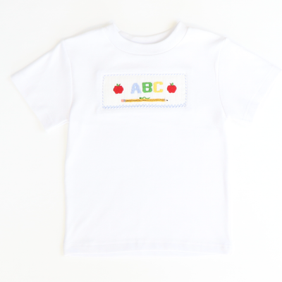 Smocked Apples & ABC T-Shirt