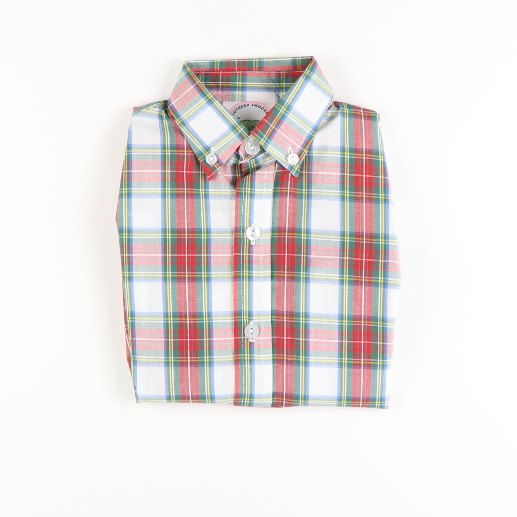 Windsor Plaid Long Sleeve Button Down Shirt