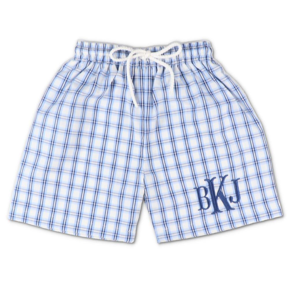 Nantucket Plaid Swim Trunks