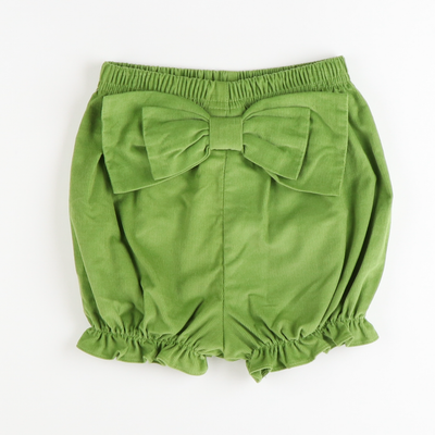 Bow Bloomer - Sage Green Corduroy