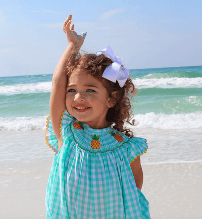 PINEAPPLE ISLAND BISHOP - Southern Smocked Company | Great Deals On Classically Styled Smocked, Monogrammed, & Embroidered Infant, Toddler, & Children's Clothing