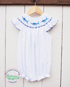 Smocked Marlin Bubble - Southern Smocked Company | Great Deals On Classically Styled Smocked, Monogrammed, & Embroidered Infant, Toddler, & Children's Clothing