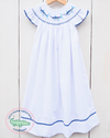 Smocked Marlin Bishop Dress - Southern Smocked Company | Great Deals On Classically Styled Smocked, Monogrammed, & Embroidered Infant, Toddler, & Children's Clothing