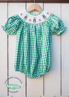 SMOCKED PETER RABBIT BUBBLE - Southern Smocked Company | Great Deals On Classically Styled Smocked, Monogrammed, & Embroidered Infant, Toddler, & Children's Clothing