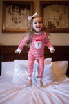 SANTA APPLIQUE PAJAMAS - Southern Smocked Company | Great Deals On Classically Styled Smocked, Monogrammed, & Embroidered Infant, Toddler, & Children's Clothing