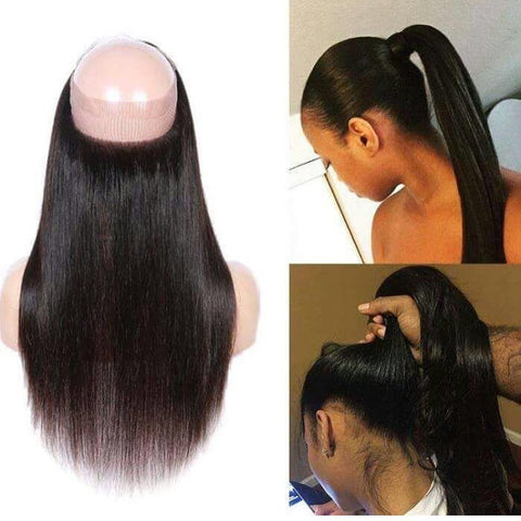 ANITA- 360 closure wig- (straight)