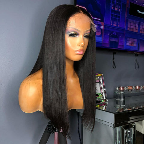 Hema- SILKY STRAIGHT CLOSURE WIG