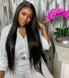 SLEEK- Raw human hair wig
