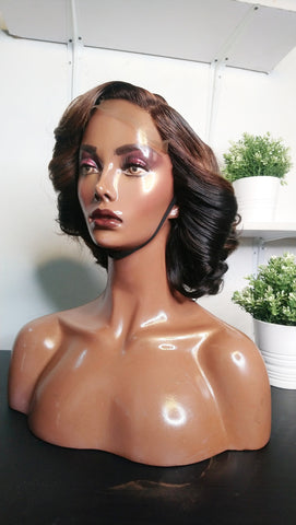 LADY- K Double drawn wig wig highlights