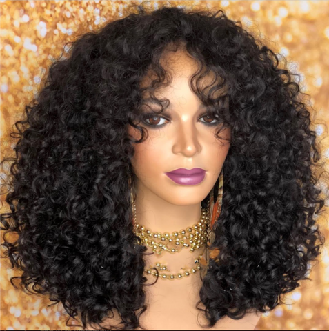 ADE- super curly wig