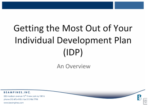 Development Planning - BeamPines Coaching Certification Program