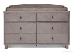Chevron 6 Drawer Dresser