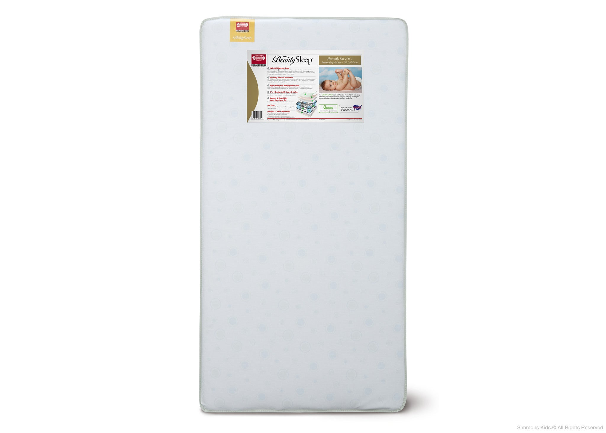 Heavenly Sky Infant Amp Toddler Mattress Simmons Kids